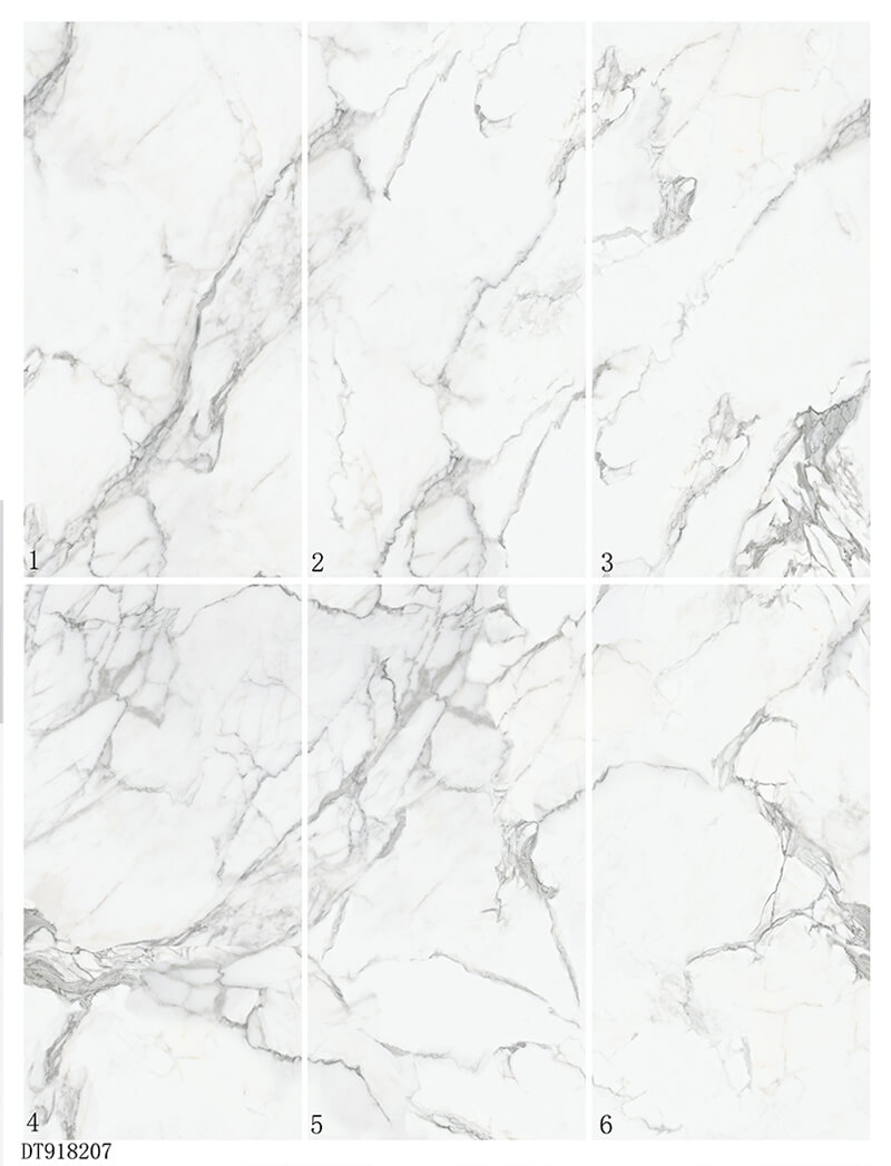 China Supplier White Carrara Marble Porcelain Floor Wall Tiles