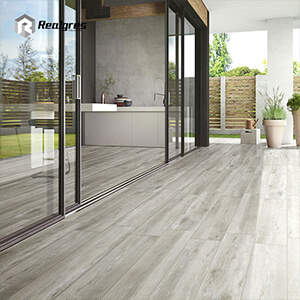 Grey Wood Outdoor Tile in 20mm Floor Tile