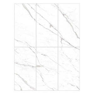 White Natural Stone Bathroom Floor Tile calacata italy