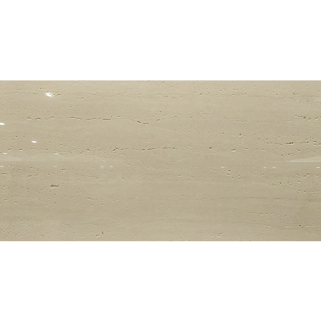 White Porcelain Travertine Stone Polished Floor Tile 600X1200mm excellence design