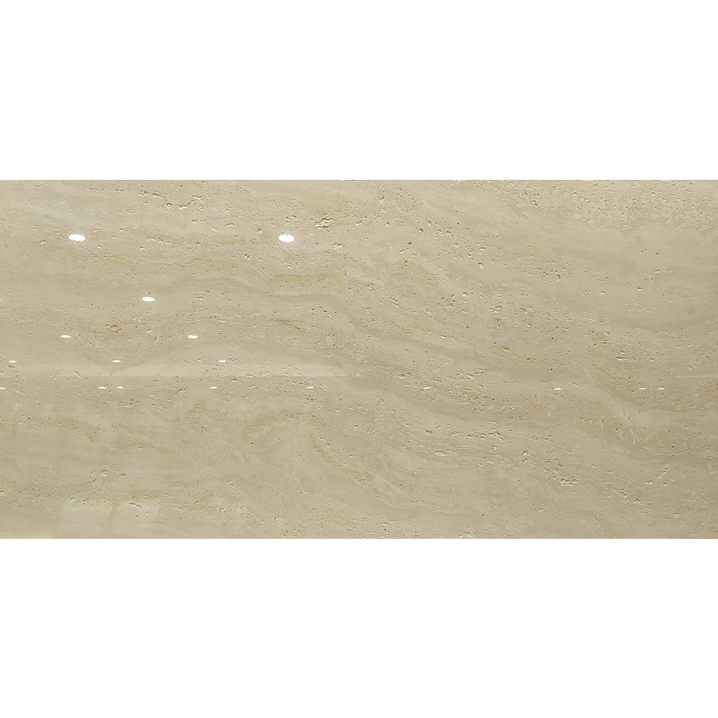 Roman Polished Tumbled Travertine Look Porcelain Tile Flooring 1200X600 Hot sell