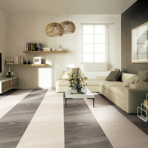 Ultra Thin Porcelain Floor Tile Textured Yellow Floor Porcelain Tile