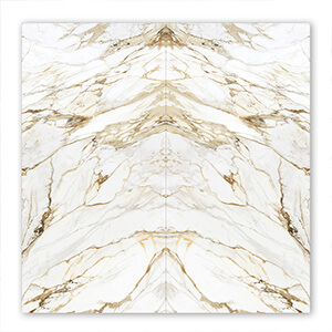 Luxury Calacatta Book Match Marble 160X320cm Porcelain Tiles