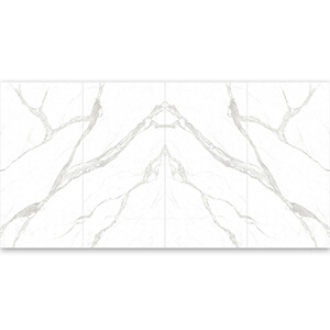 White Large Polished Porcelain kitchen tile Wall Tile Supplier