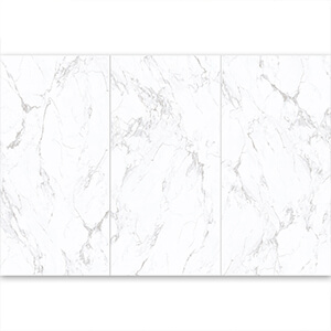 White Marble Porcelain Tile Kitchen Floor Tile Supplier